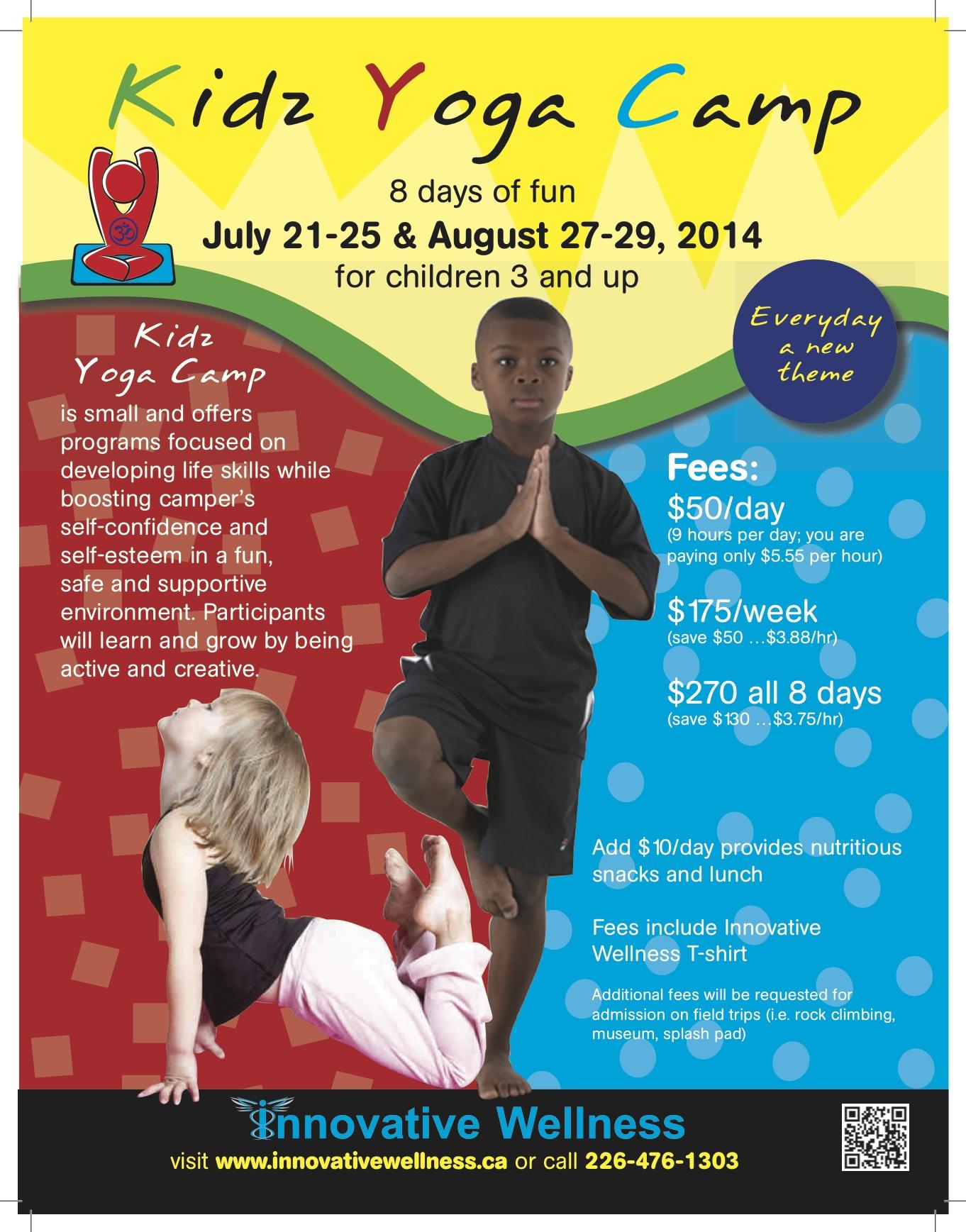 Kidz Camp Poster 2014